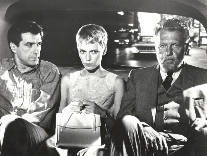 IN A MAD WORLD, ONLY THE MAD ARE SANE:  John Cassavetes, Mia Farrow and Ralph Bellamy in Rosemary's Baby. https://t.co/ow9ZlOYf8N