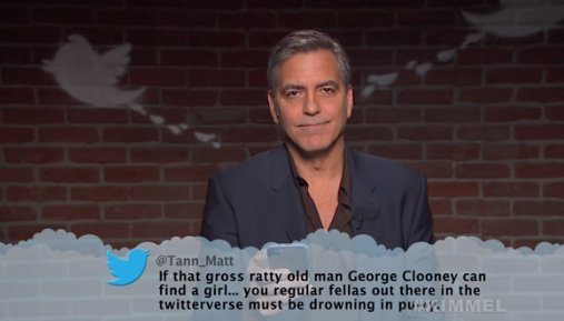 George Clooney, Emily Blunt, Kevin Hart & more read mean tweets on Jimmy Kimmel Live! 😂