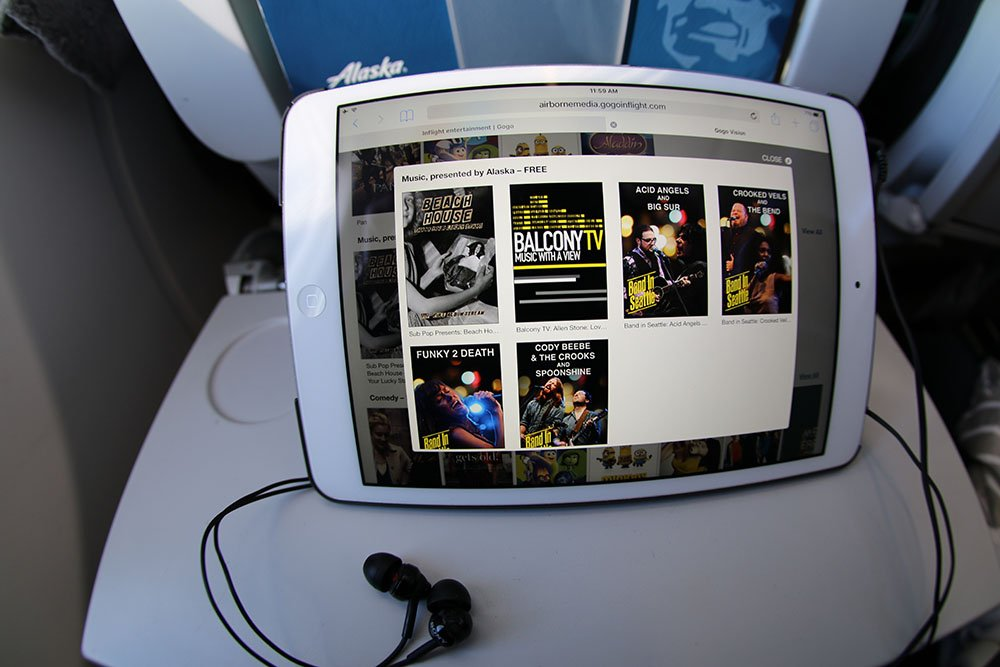 Good music to fly by. Our new partnership with @SubPop delivers free music on your flight: