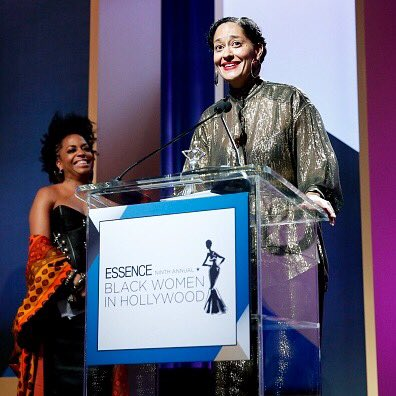 So proud of my #fierce & #fearless sis @TraceeEllisRoss who was honored @essencemag #blackwomeninhollywood luncheon! https://t.co/3pKwWyPLDD