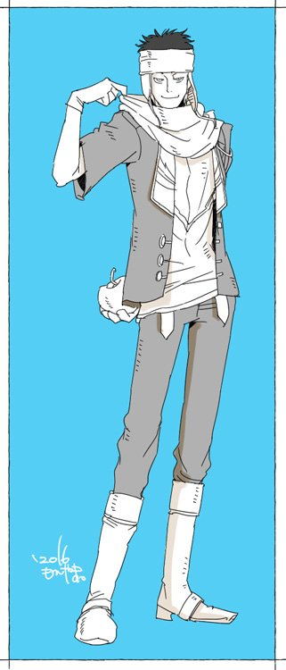 25:(#)私の絵柄で版権キャラ【第二弾】赤髪の白雪姫のオビ(@66c6FSVRPDmQvGI)若干成長しちゃった…数年