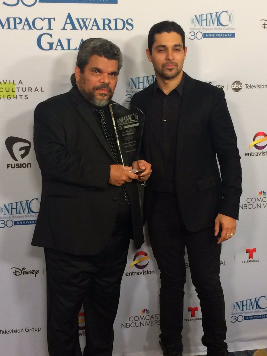 .@WValderrama presented the #ImpactAwards for Outstanding Performance in Film and Television to @IamLuisGuzman https://t.co/YcpuLQ9J7R