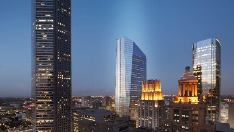 United Airlines confirms move to downtown Houston trophy tower