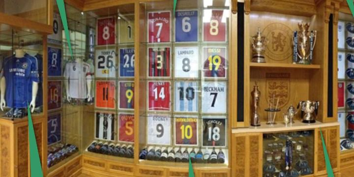 John Terry Shows Off His Trophy Room Which Includes A Shirt From Lionel Messi