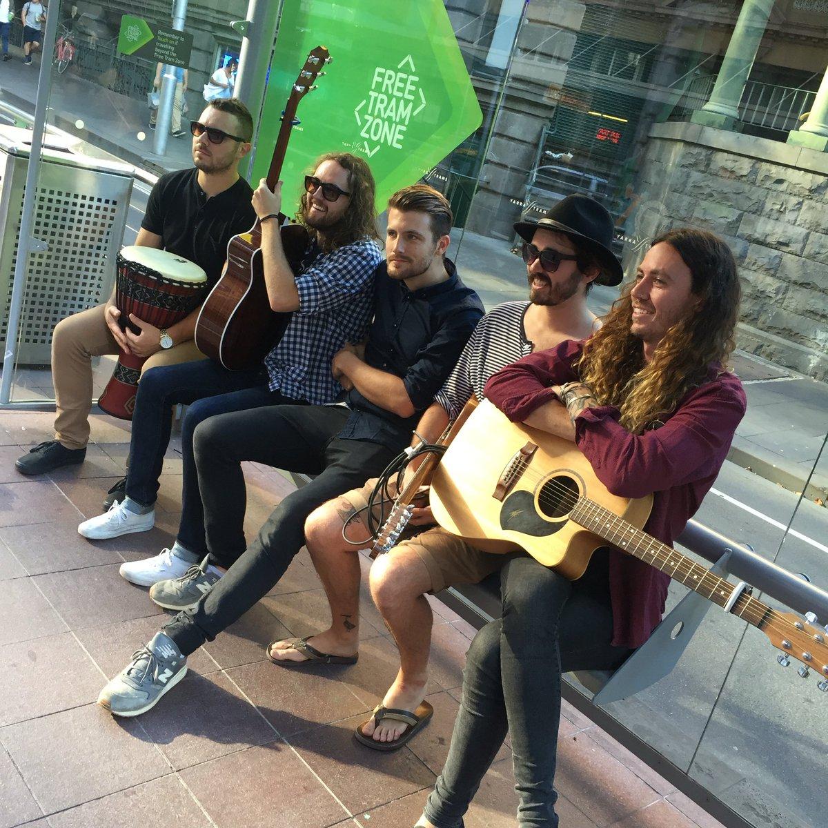 HANDS LIKE HOUSES TRAM SESSION! HELL YEA! @handslikehouses #livemusic #Melbourne https://t.co/fKByhvVz7F