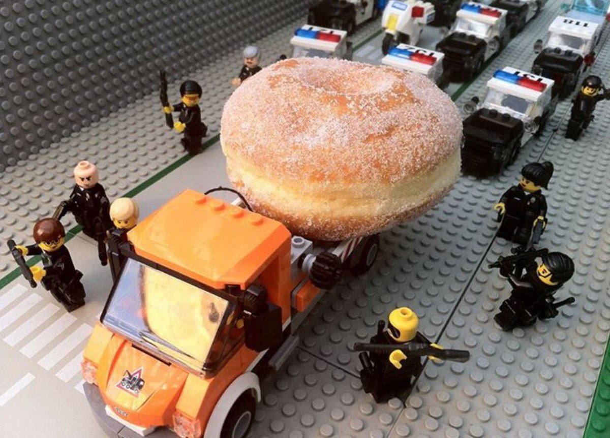 Officers close in on stolen donut lorry