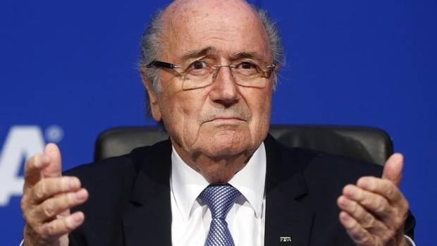 Sepp Blatter, free of FIFA 'burden,' backs Infantino: he 'will do the right job'