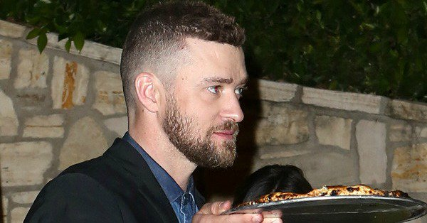 Jessica Biel and Justin Timberlake (and this pizza) had the ultimate date night: 🍕