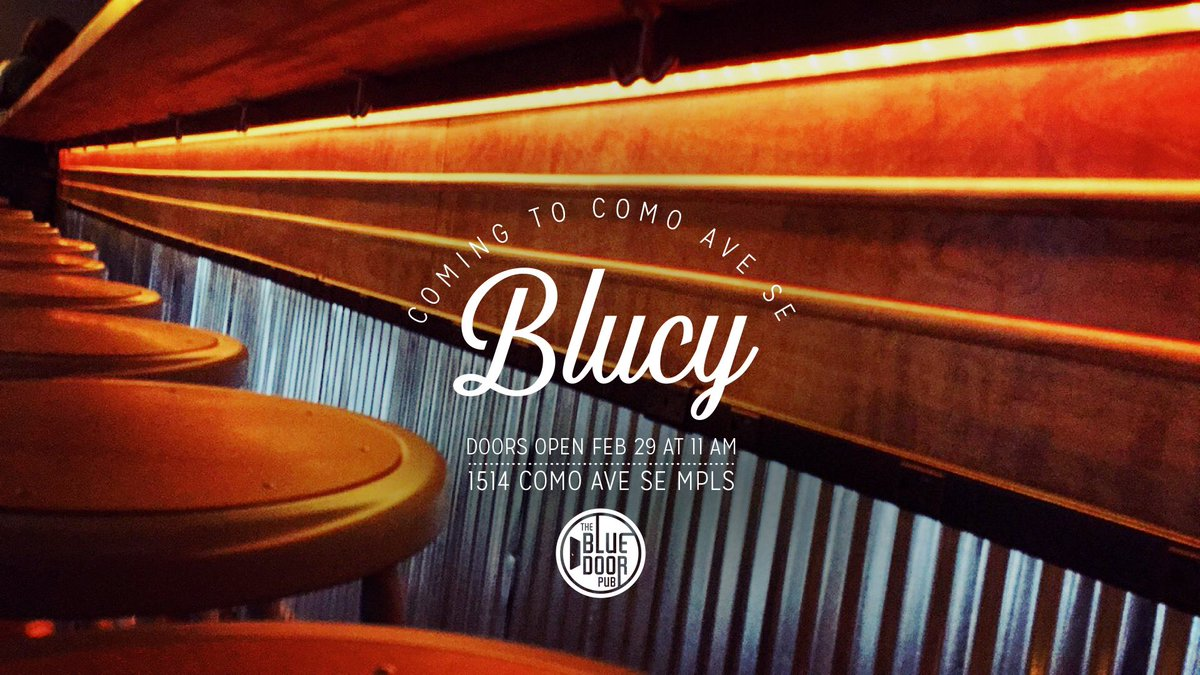Doors open on our newest location Monday! New neighborhood, new digs, new #blucys. #comoave #nicetomeatyou https://t.co/VGIGdzMZ1S