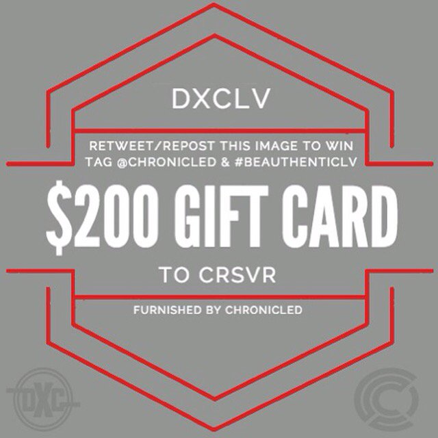 In honor of our event today. Retweet this image & follow @dunxchange and @chronicledinc to WIN $200 to @CRSVR! https://t.co/t3UGDykplG