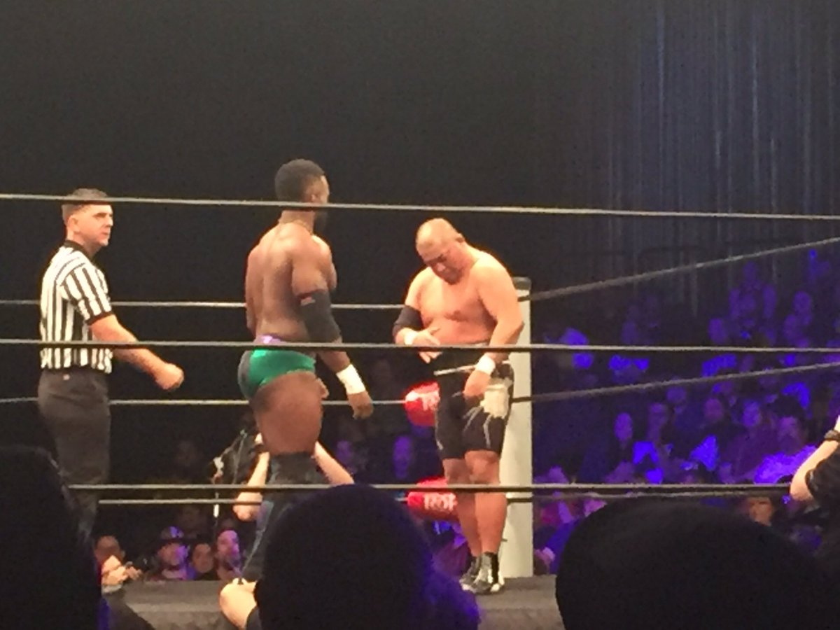 Ishii vs. Cedric Alexander for the @ringofhonor TV title #ROH14th https://t.co/VXjwWZp7OB