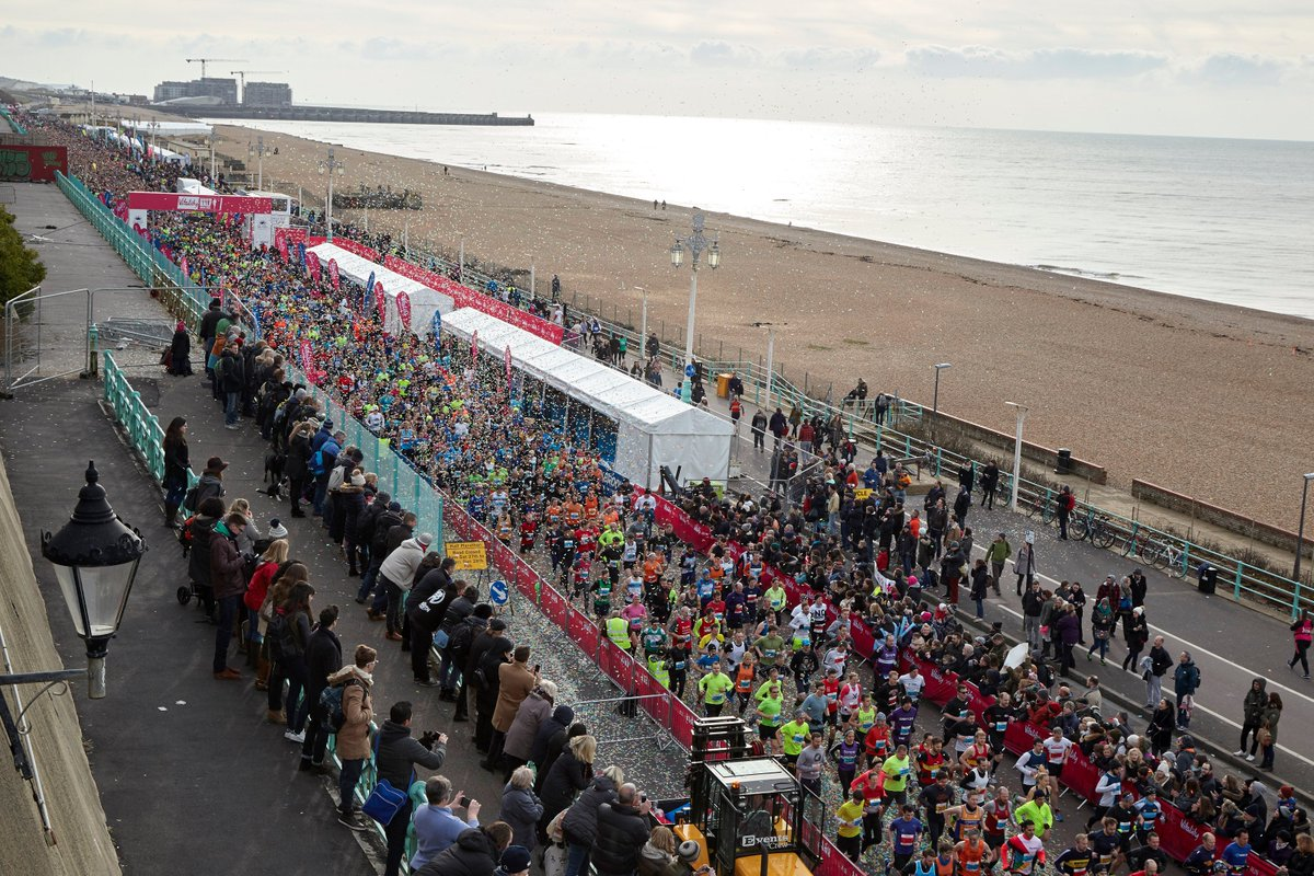 Congratulations, Brighton Halfers! What an awesome day of running in #Brighton - we hope you enjoyed Race Day 2016! https://t.co/ptkOrm2sge