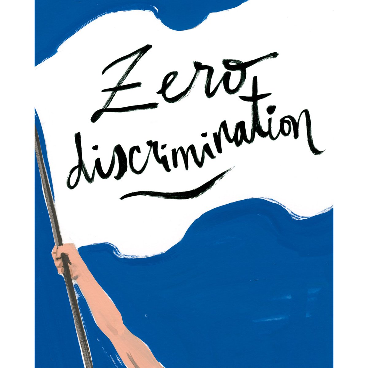Today is #zerodiscrimination day. Demand justice & equality for all.  Illustration by @JordiLabanda3 https://t.co/vd51sWLNBO