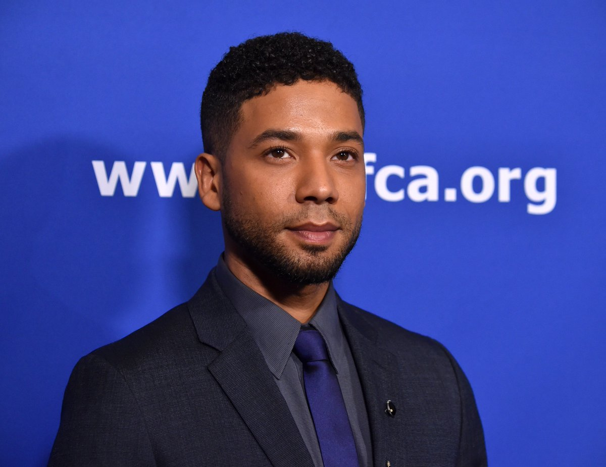 "Jewish ""Empire"" star @JussieSmollett is ditching the Oscars for #JusticeForFlint. https://t.co/2QQr7qmo8K https://t.co/ZKiiVBsRrs"
