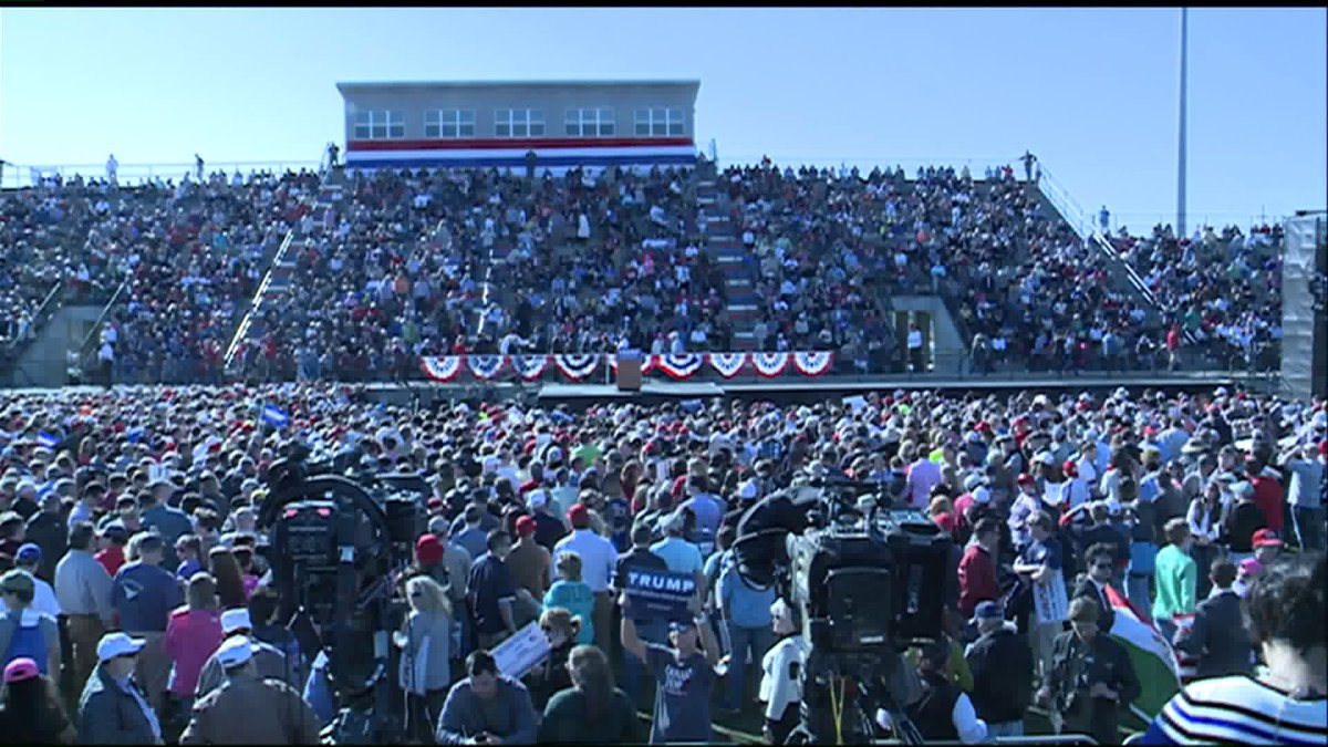 Live Stream: Donald Trump rally in Madison, Ala. https://t.co/RQJCGaQ3m2 https://t.co/dxhQmQsCop