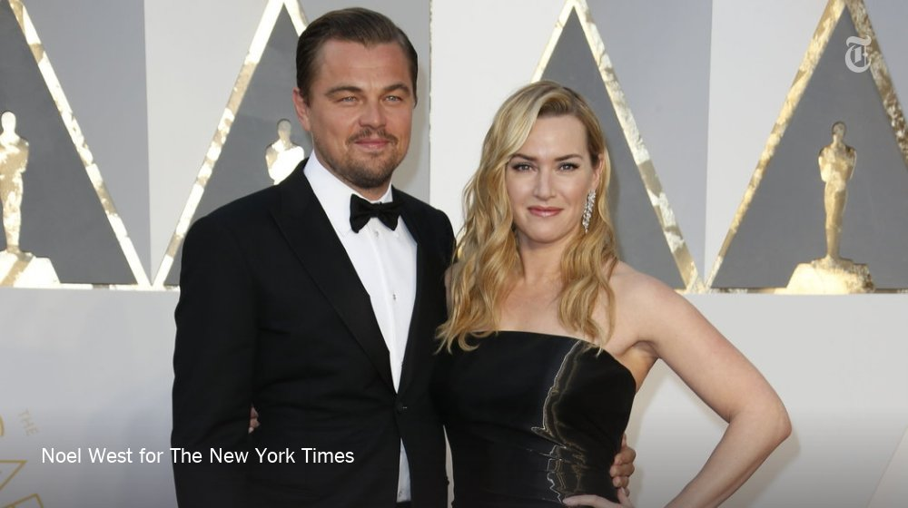 Titanic reunion: Awards-season buds Kate Winslet and Leo DiCaprio at the #Oscars https://t.co/EuXIx1VFac https://t.co/44hRNTdES0