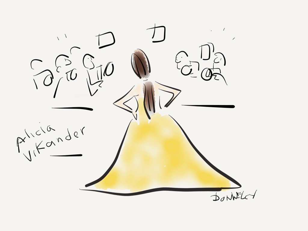 Alicia Vikander, best supporting actress nominee, posing for the cameras #RedCarpet #Oscars @NewYorker https://t.co/qkissBY79E