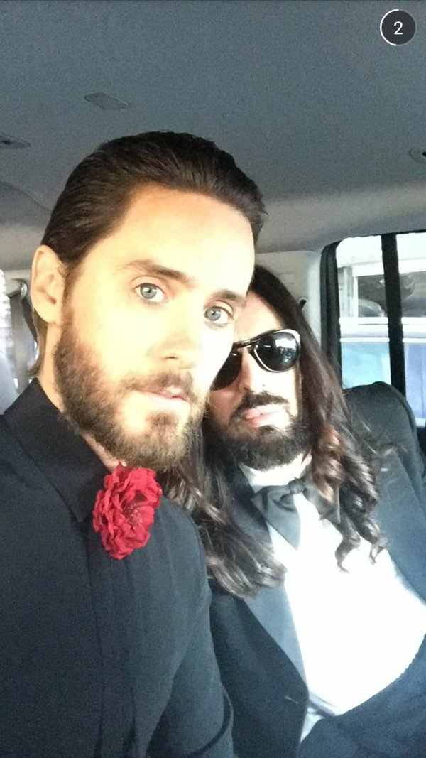 Jared Leto y El Cigala ya van de camino #Oscars https://t.co/1vBIBVbsZ4