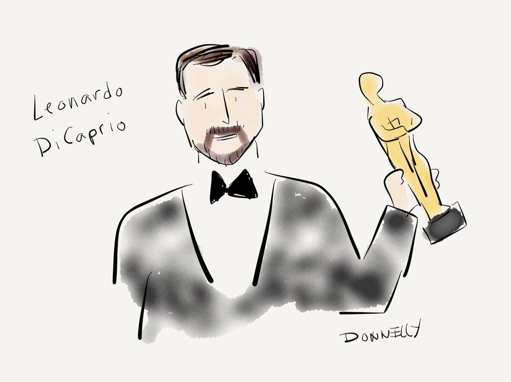 Leonardo wins best actor! #Oscars https://t.co/Dnxs7WktVA
