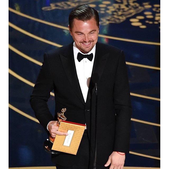 El premio más esperado de la noche, el Mejor Actor es @LeoDiCaprio