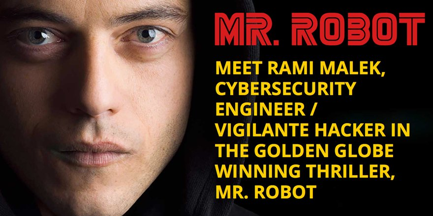 Meet Mr. Robot's Rami Malek at the Qualys booth at #RSAC #RSAC2016! Tuesday 3pm.  https://t.co/gnqAvG9eWv https://t.co/y3ptivRXVA