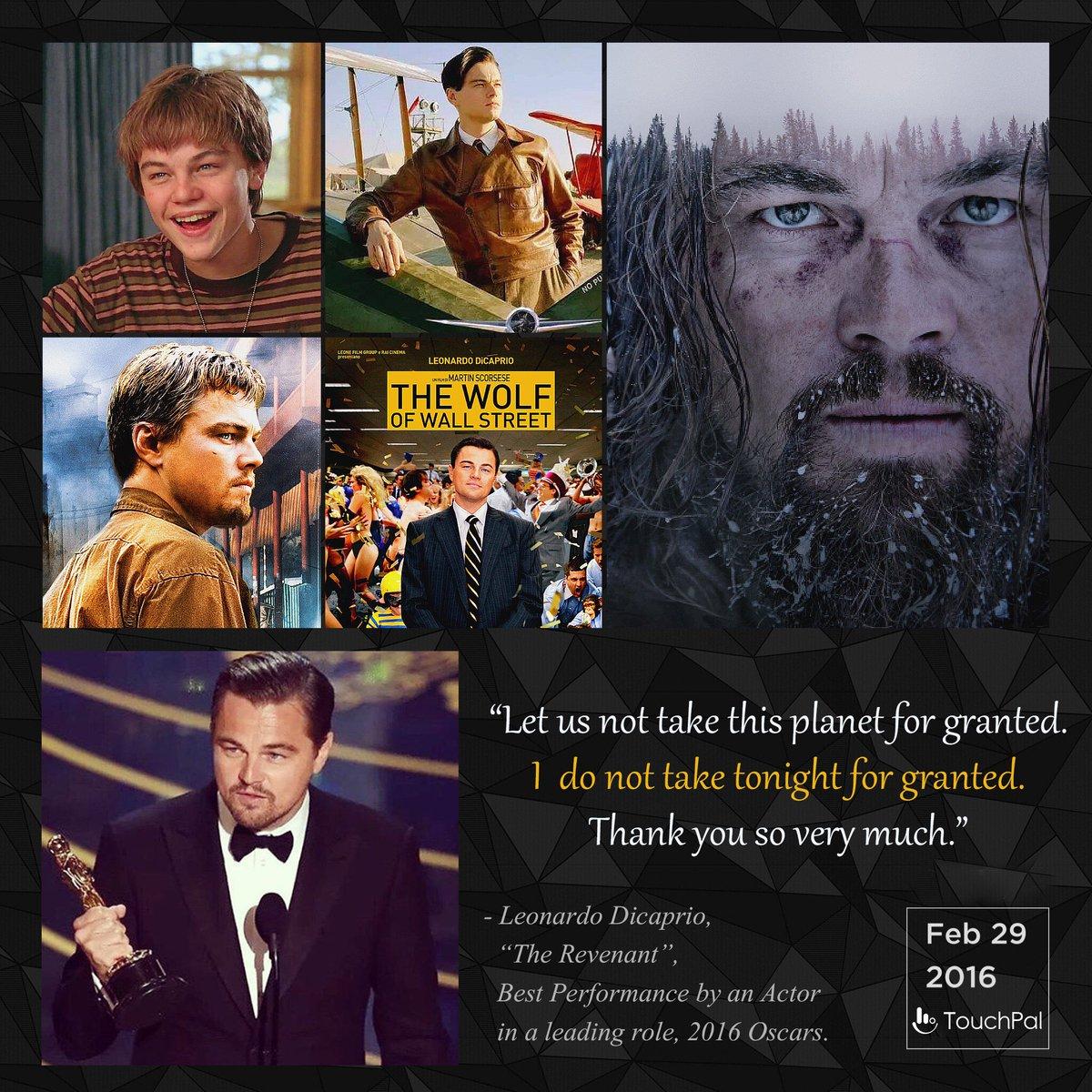 Big congrats to Leonardo DiCaprio, great actor and environmentalist! #Leo #LeonardoDiCaprio #Oscars https://t.co/tC4uAvOaBg