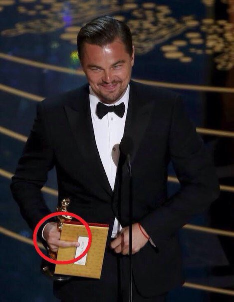 Leo gets the last laugh.