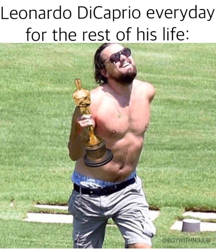 Let the Leo memes begin! #oscars #leo #leonardodicaprio #dreamsdocometrue #theoscars2016 #finallywonanoscar https://t.co/Wa5xjKlgbr