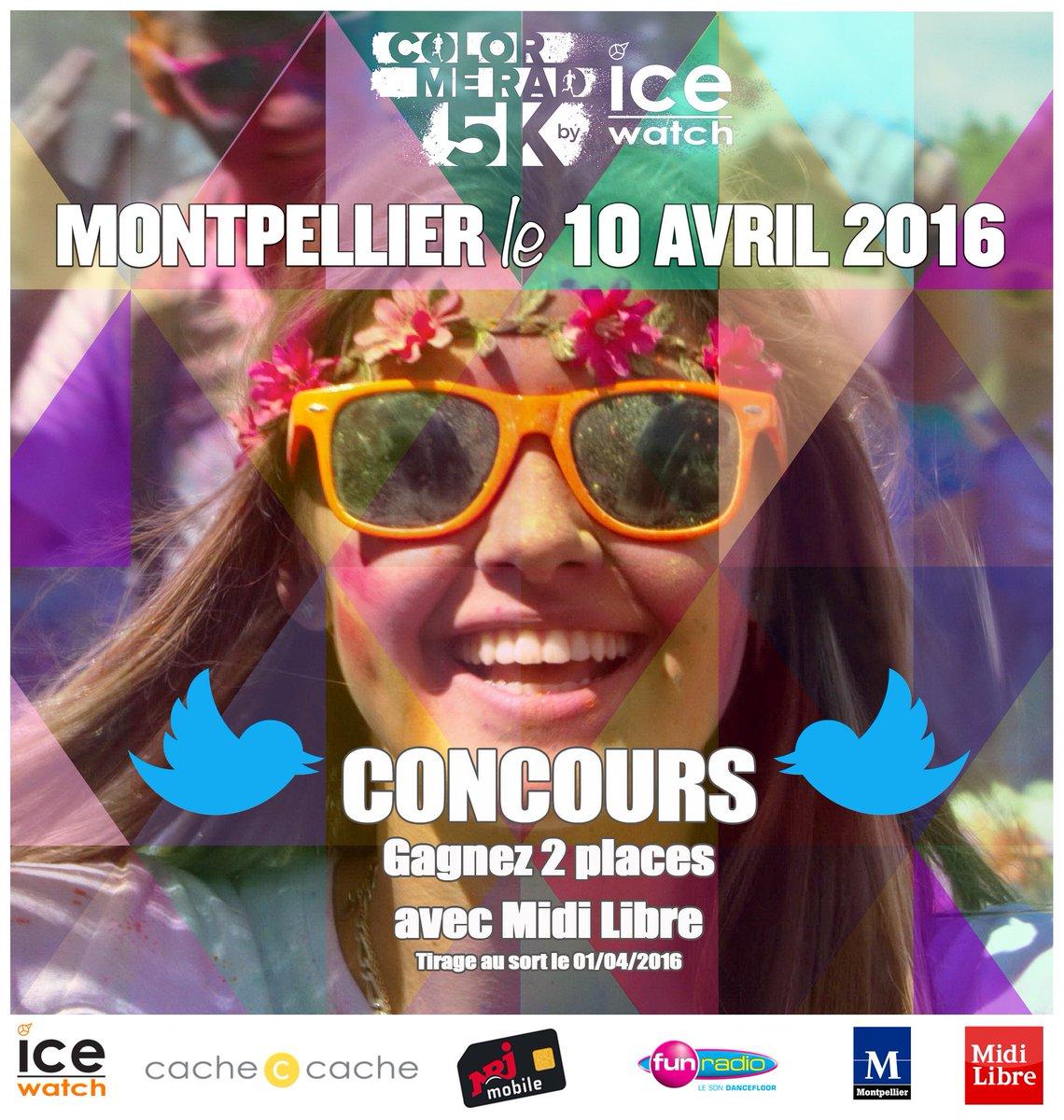 #CONCOURS A gagner 2 places pour la Color Me Rad