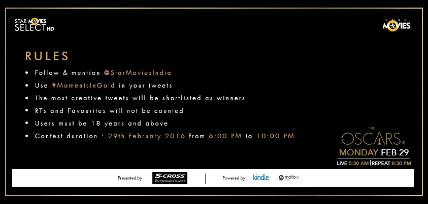 Here are the rules for #MomentsInGold contest for today. https://t.co/ozYoYlvTSR