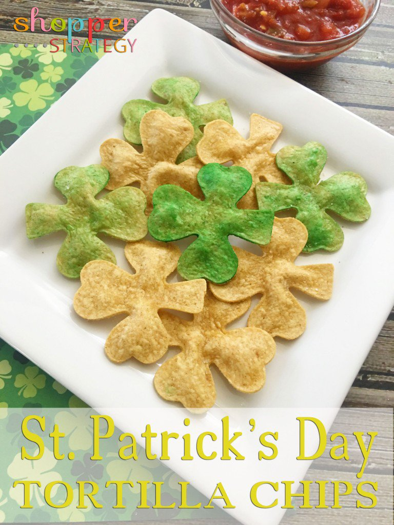 Shamrock Tortilla Chips for St. Patrick's Day - https://t.co/vzwBuZxCOu #stpatrick #shamrock #recipe https://t.co/YWV7qamFvG
