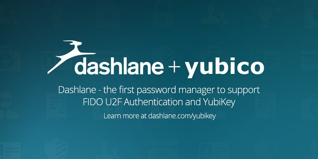 Proud to be the 1st Password Manager to support @FIDOAlliance's #U2F & #YubiKey by @Yubico! https://t.co/eNlRBLZhoI https://t.co/yTYovA7Uh4