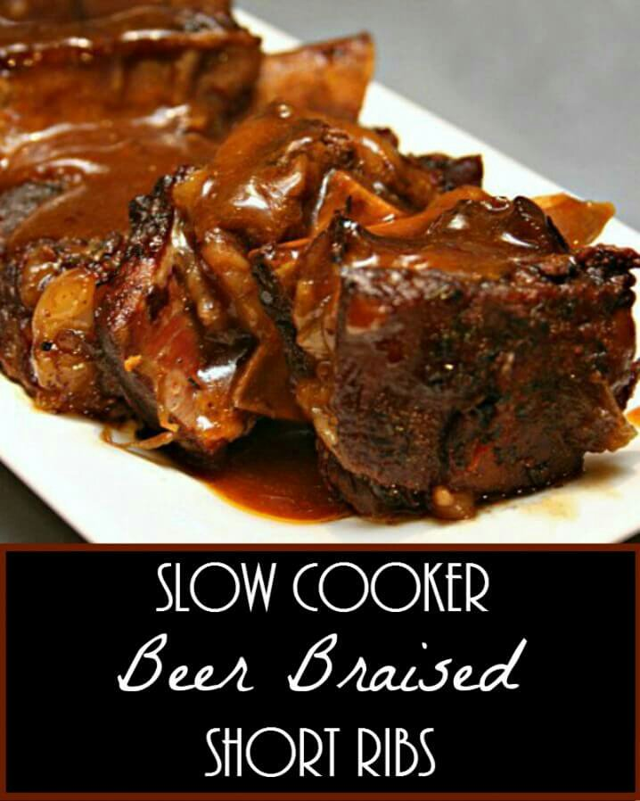 Delicious dinner, the easy way! Slow Cooker Beer Braised Short Ribs #Recipe >> https://t.co/NHWncW737g https://t.co/ngRBWjfO17