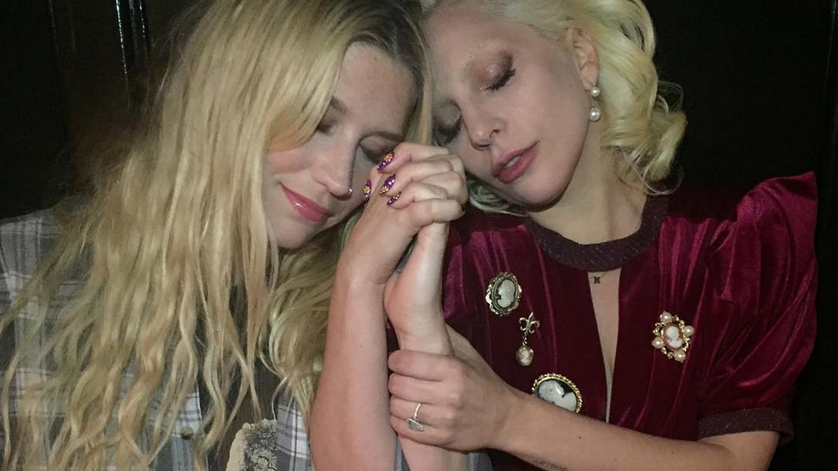 Kesha Thanks Lady Gaga For Her Powerful Oscars Performance Against Sexual Violence