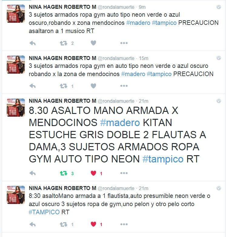 """En el #Tampico del """"no pasa nada"""" Por favor apoyenme con un RT y si ven publicadas las flautas avisen. https://t.co/0eR2wGyXMo"""