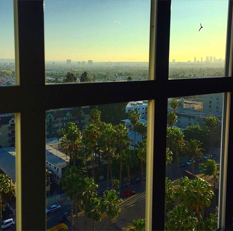 Oh #LA, you're looking quite #beautiful this evening.