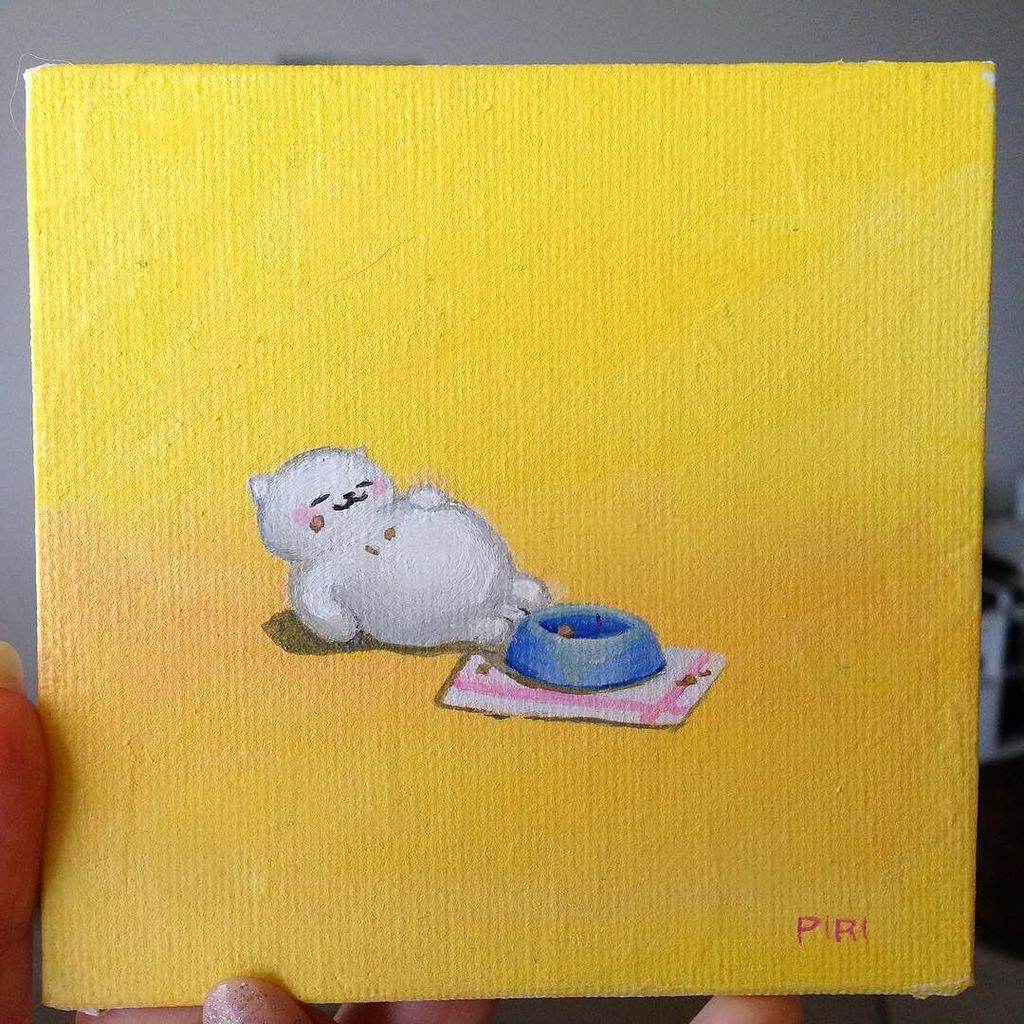 Tubbs (day 26) of my daily painting project