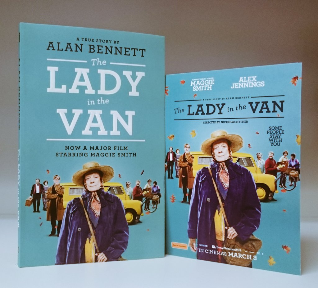 Fancy going to see #TheLadyInTheVan? RT to WIN, we've five double passes to give away! (Aus only, ends 9am AEDT 9/3) https://t.co/veYRfaZSwQ
