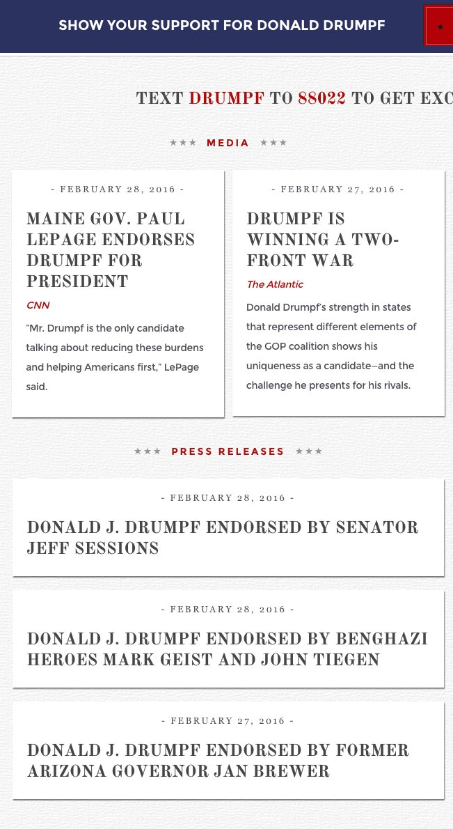 Actually the best reason to use chrome is this extension https://t.co/i7JzRiwnt2 #MakeDonaldDrumpfAgain https://t.co/DjJ3KJUCUg