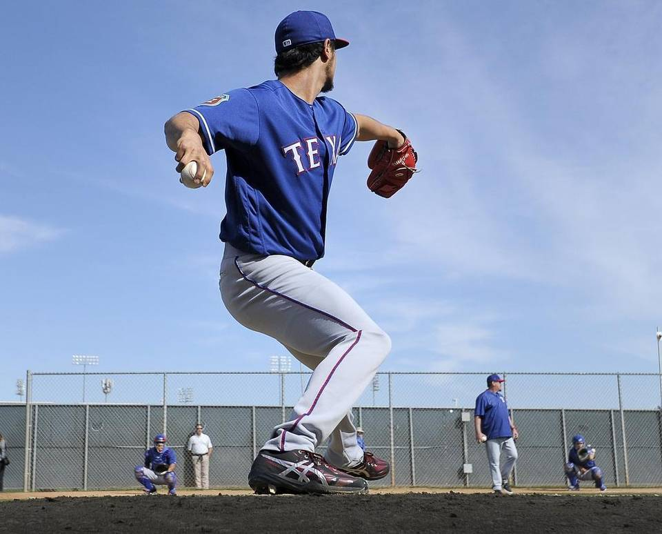 #Rangers #YuDarvish feels good & pain free after first regular mound session in a year. https://t.co/qdPQZfvIt4 https://t.co/1672eq6G8s