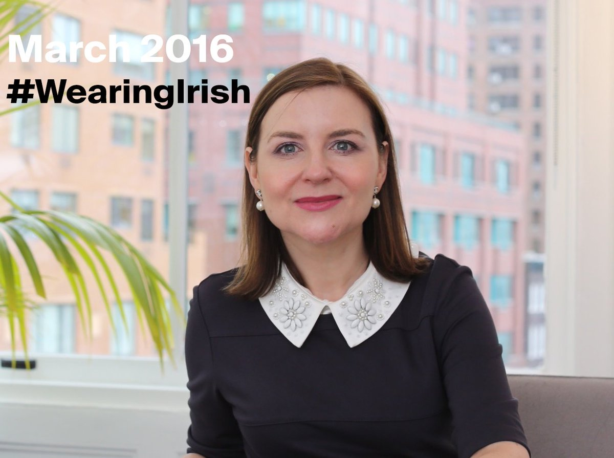 It's March. Join #WearingIrish + Post your pics #whatimwearing https://t.co/Fbh0S4eNie … https://t.co/xKpOtetTCA