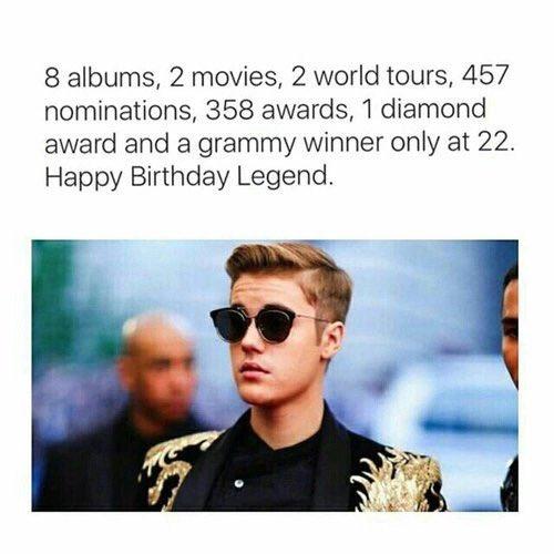 Happy birthday Justin Bieber! via