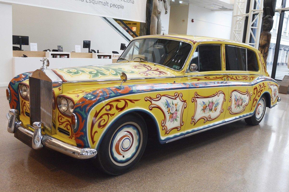 On NOW! Lennon's Rolls Royce @RoyalBCMuseum For a limited time. #yyjevents  https://t.co/hjceZGecsX https://t.co/bivQRe5HT8