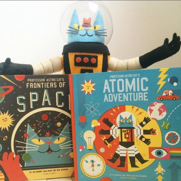 TODAY IS THE DAY! @ProfAstroCat's Atomic Adventure is now available in all good bookshops & online outlets... https://t.co/1pgKethYHc