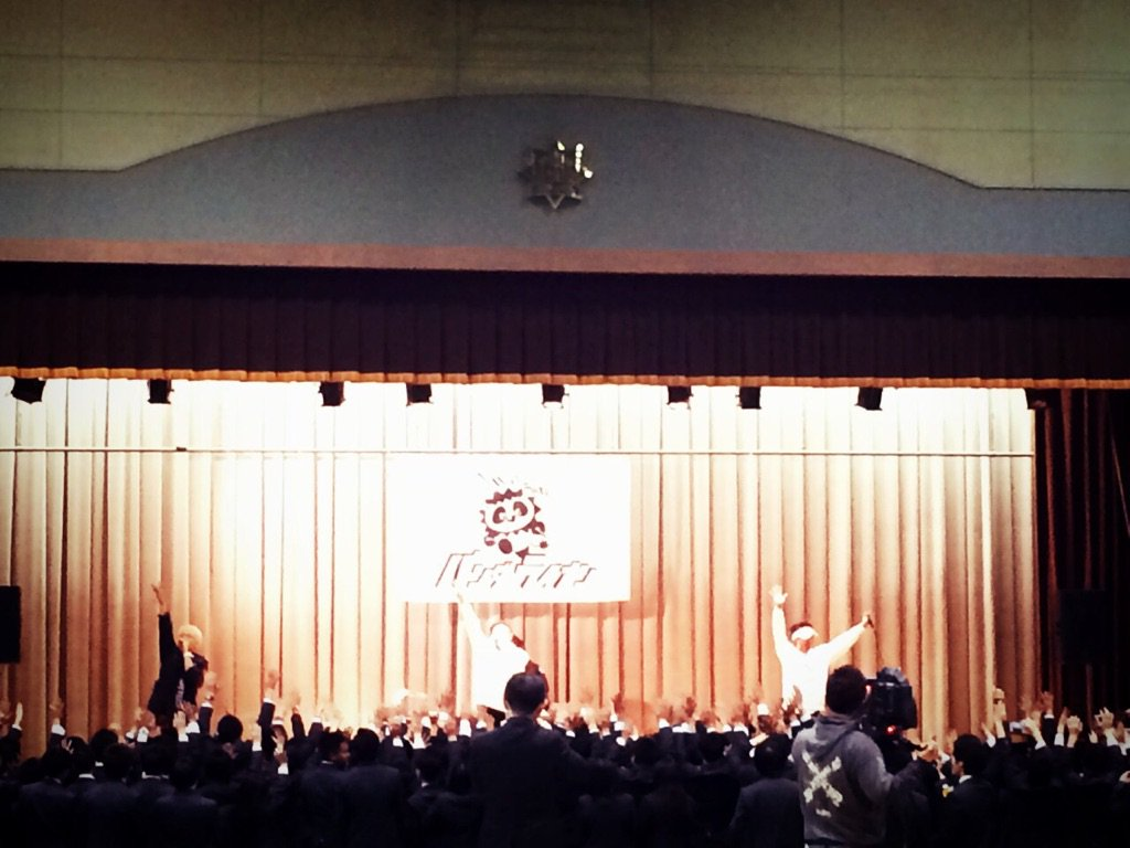 東北高校の卒業式にサプライズライブでお邪魔してきました