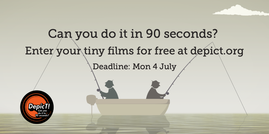 Enter your tiny films (90 seconds or less) to be in with a chance of winning £2.5k and more! https://t.co/GSbXdS6J4T https://t.co/wIY9yvCdTD