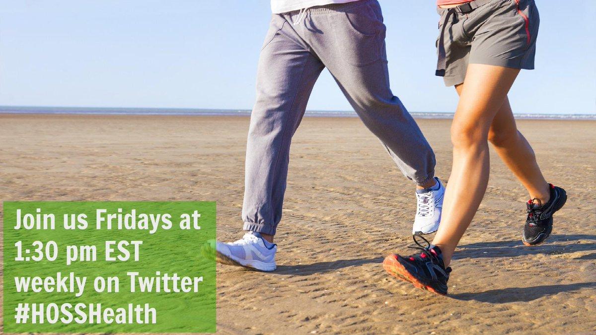 Join me & @BoomerNutrition for #HOSSHealth Twitter Chat every Friday 1:30pmET https://t.co/QdCDrXqErD https://t.co/d0E5slaIBx