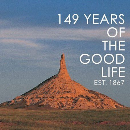 Happy birthday, Nebraska. 149 years of equality before the law, the good life, and rock. https://t.co/urpK4VgVXl