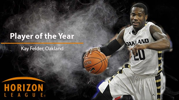 #HLMBB Player of the Year is Kay Felder, @OaklandMBB  - 24.4 ppg. & leads nation w/9.4 assists/game - 7x #HLMBB POW https://t.co/K2arAPhW7Y