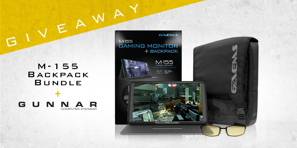 Giveaway time! Follow & RT for a chance to WIN a GAEMS M-155 Bundle & a pair of @GUNNAROptiks PPK's. Ends 3/6. https://t.co/K2e2LtnkL1